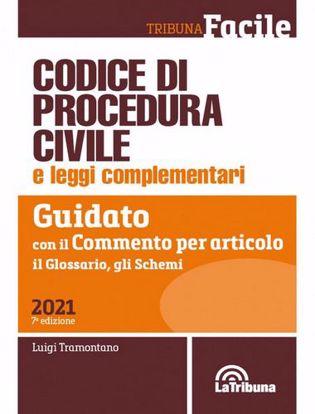 Immagine di Codice di procedura civile e leggi complementari. Guidato con il commento per articolo, il glossario, gli schemi