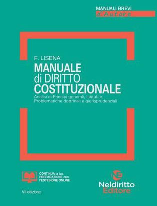 Immagine di Manuale Breve Di Diritto Costituzionale 2021