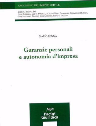 Immagine di Garanzie personali e autonomia d'impresa