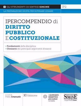Immagine di Ipercompendio diritto pubblico e costituzionale