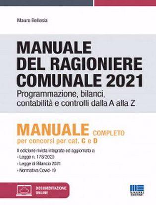 Immagine di Manuale del ragioniere comunale 2021