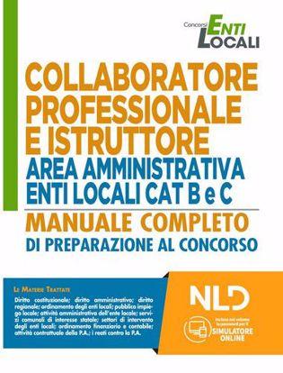 Immagine di Collaboratore Professionale e Istruttore area Amministrativa Enti Locali CAT. B e C. Manuale completo + Quiz Per la preparazione ai concorsi