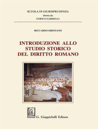 Immagine di Introduzione allo studio storico del diritto romano