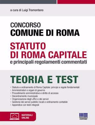 Immagine di Concorso Comune di Roma. Statuto di Roma Capitale e principali regolamenti commentati. Con Contenuto digitale per accesso on line