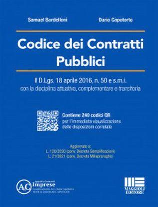 Immagine di Codice dei contratti pubblici. Con espansione online