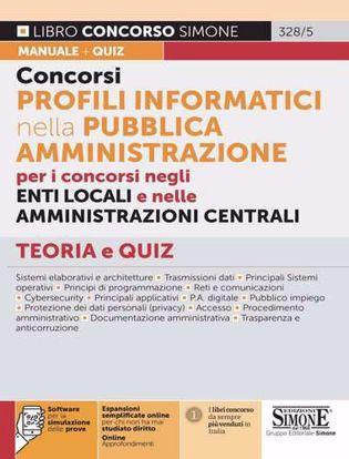 Immagine di Concorsi profili informatici nella Pubblica Amministrazione. Con espansione online. Con software di simulazione