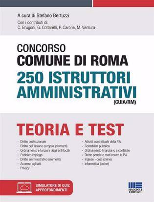Immagine di Concorso Comune di Roma 250 Istruttori amministrativi (CUIA/RM). Con software di simulazione