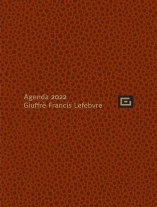 Immagine di Agenda Personale 2022 + Udienza Marrone