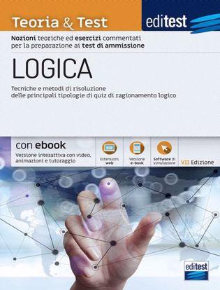 Immagine di EdiTEST. Logica. Teoria & test. Nozioni teoriche ed esercizi commentati per i test di accesso. Con e-book. Con software di simulazione