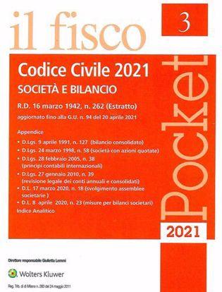 Immagine di Codice Civile 2021. Società e BIlancio