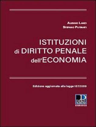 Immagine di Istituzioni di diritto penale dell'economia