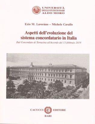 Immagine di Aspetti dell'evoluzione del sistema concordatario in Italia