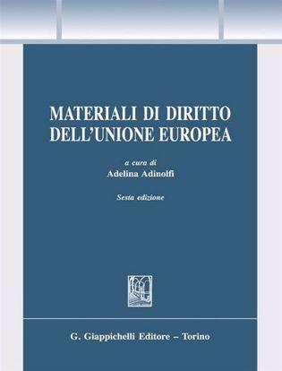 Immagine di Materiali di diritto dell'Unione Europea