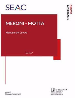 Immagine di Meroni-Motta. Manuale del lavoro
