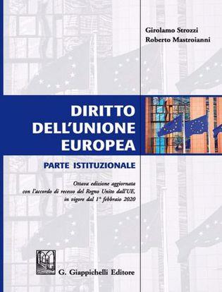 Immagine di Diritto dell'Unione Europea. Parte istituzionale