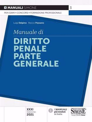 Immagine di Manuale di diritto penale. Parte generale