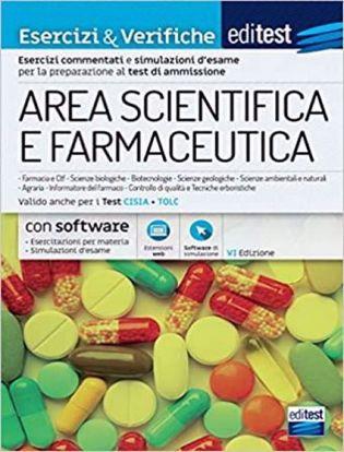 Immagine di EdiTEST. Test ammissione area scientifica e Farmaceutica 2021: Esercizi e verifiche. Valido anche per i Tolc. Con software di simulazione