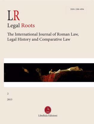 Immagine di LR. Legal Roots. Vol. 2/2013