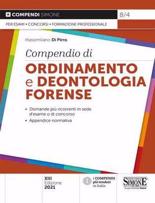 Immagine di Compendio di ordinamento e deontologia forense