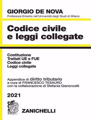 Immagine di Codice civile e leggi collegate 2021. Con appendice di diritto tributario