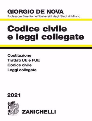 Immagine di Codice civile e leggi collegate 2021