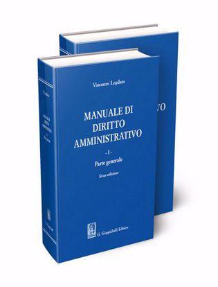 Immagine di Manuale di diritto amministrativo. 2 tomi