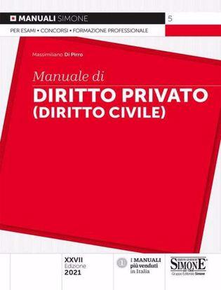 Immagine di Manuale di istituzioni di diritto privato (diritto civile)