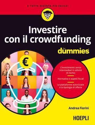 Immagine di Investire con il crowdfunding for dummies