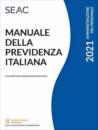 Immagine di Manuale della previdenza italiana