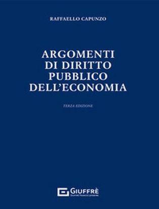 Immagine di Argomenti di Diritto Pubblico dell'Economia