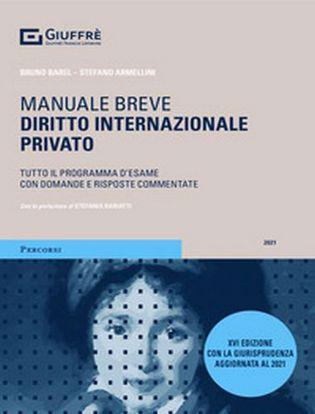 Immagine di Manuale Breve Diritto Internazionale Privato