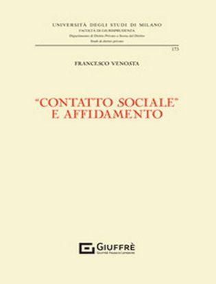 Immagine di «Contatto sociale» e affidamento