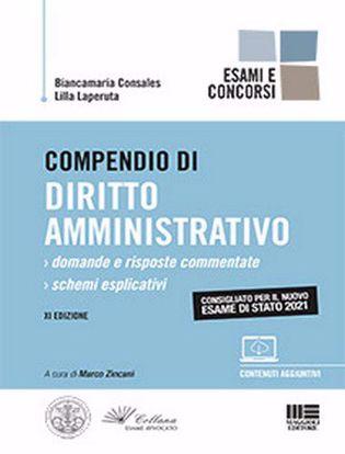 Immagine di Compendio di diritto amministrativo