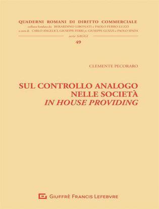 Immagine di Sul controllo analogo nelle società in house providing