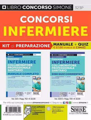 Immagine di Concorsi infermiere. Kit di preparazione. Manuale completo + Quiz commentati. Con software di simulazione