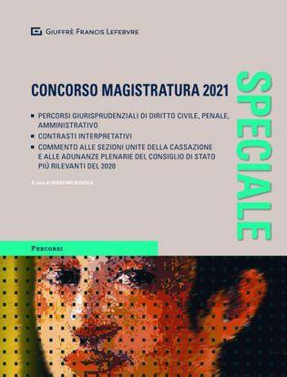 Immagine di Speciale concorso magistratura 2021