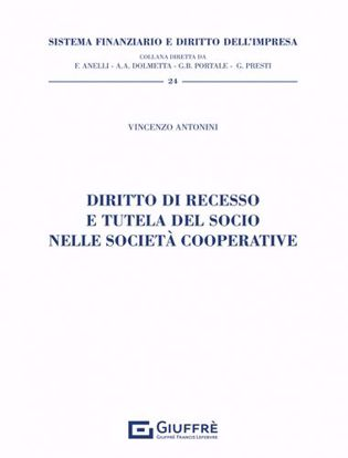 Immagine di Diritto di recesso e tutela del socio nelle società cooperative