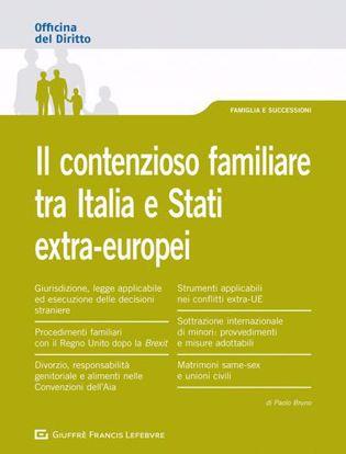 Immagine di Il contenzioso familiare tra Italia e Stati extra-europei