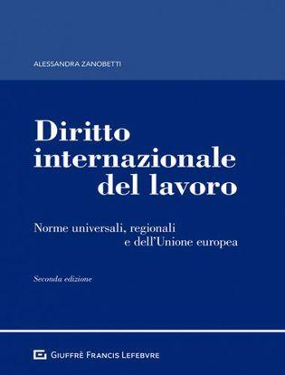 Immagine di Diritto internazionale del lavoro. Norme universali, regionali e dell'Unione europea