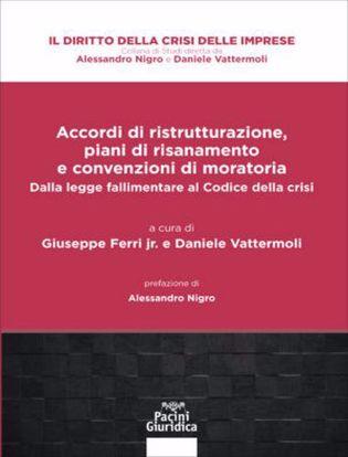 Immagine di Accordi di ristrutturazione, piani di risanamento e convenzioni di moratoria. Dalla legge fallimentare al Codice della crisi