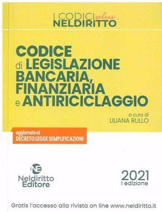 Immagine di Codice di legislazione bancaria, finanziaria e antiriciclaggio