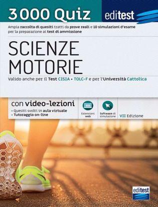 Immagine di Test scienze motorie 2021: raccolta di 3.000 quiz. Ampia raccolta di quiz suddivisi per materia e 10 simulazioni d'esame per la preparazione ai test di ammissione