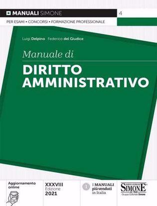 Immagine di Manuale di diritto amministrativo