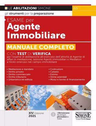 Immagine di Esame per agente immobiliare. Manuale completo con test di verifica
