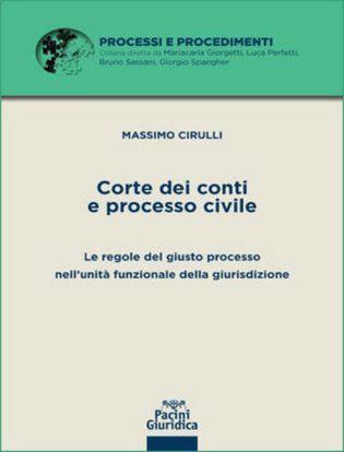 Immagine di Corte dei Conti e processo civile. Le regole del giusto processo nell'unità funzionale della giurisdizione