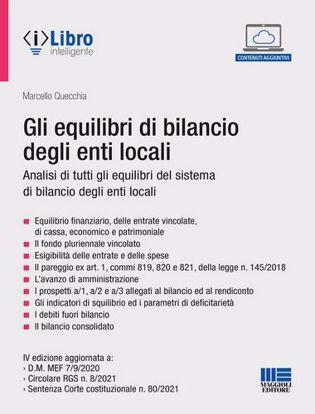 Immagine di Gli equilibri di bilancio degli enti locali