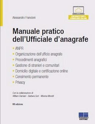 Immagine di Manuale pratico dell'ufficiale d'anagrafe