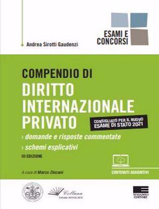 Immagine di Compendio di diritto internazionale privato