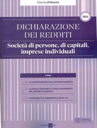 Immagine di Dichiarazione dei redditi 2021. Società di persone, di capitali, imprese individuali