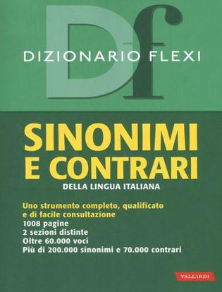 Immagine di Dizionario flexi. Sinonimi e contrari della lingua italiana